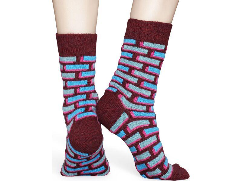 Happy Socks Wool Brick Multi 6700