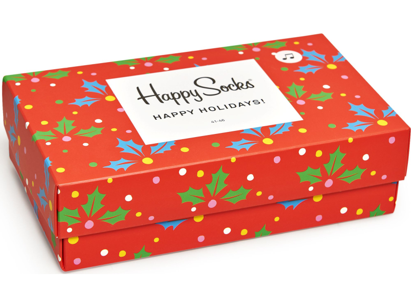 Happy Socks Playing Holiday Gift Box Multi 6500