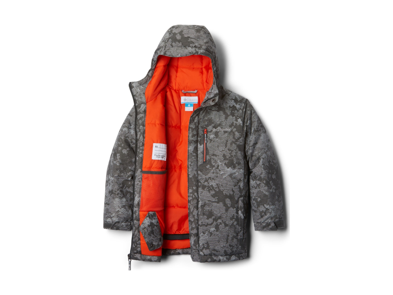 Columbia Alpine Free Fall II Jacket Grill Continents Camo