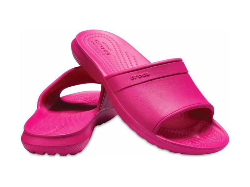 Crocs™ Kids' Classic Slide Candy Pink