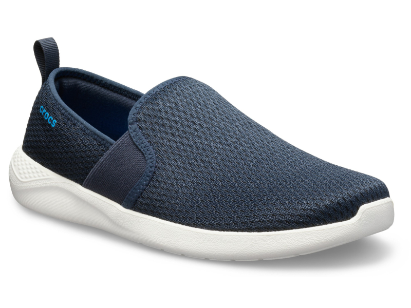 Crocs™ LiteRide Mesh Slip-On Men's Navy/White