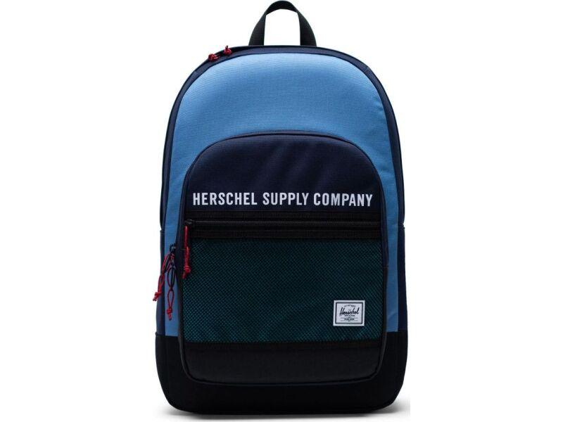 Herschel Kaine Peacoat/Riverside/Black/Tile Blue
