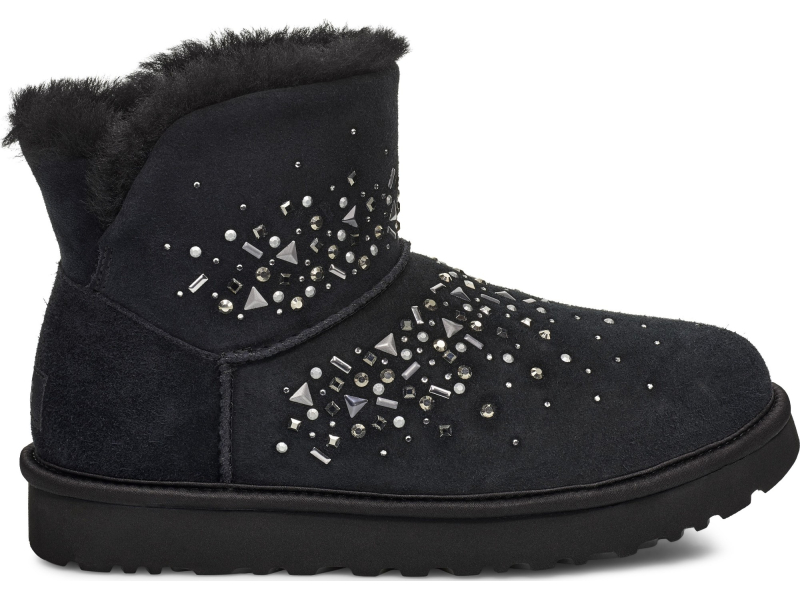UGG Classic Galaxy Bling Mini Black