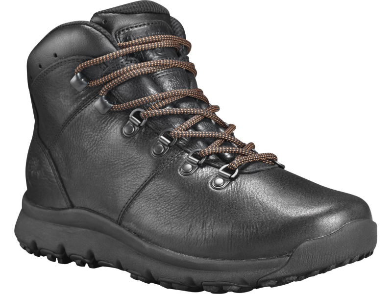 Timberland World Hiker Mid Black Full-Grain
