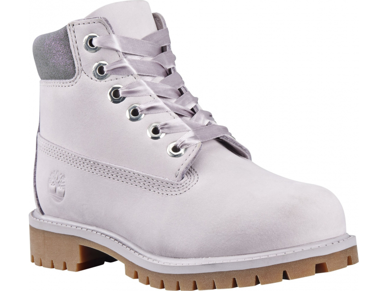 Timberland 6 In Premium Boot Junior's Light Grey