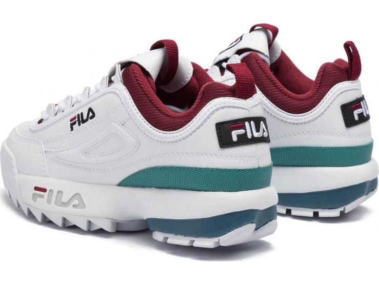 FILA Disruptor CB Low White/Rhubarb