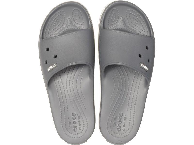 Crocs™ Crocband III Slide Slate Grey/White
