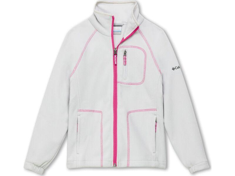 Columbia Fast Trek II Full Zip Silver Grey/Pink Ice
