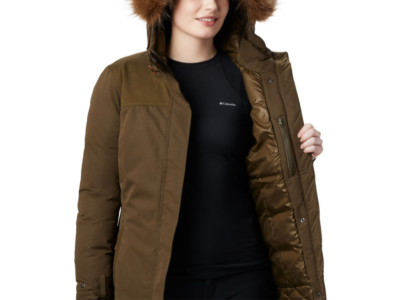 Columbia Lindores Jacket Olive Green