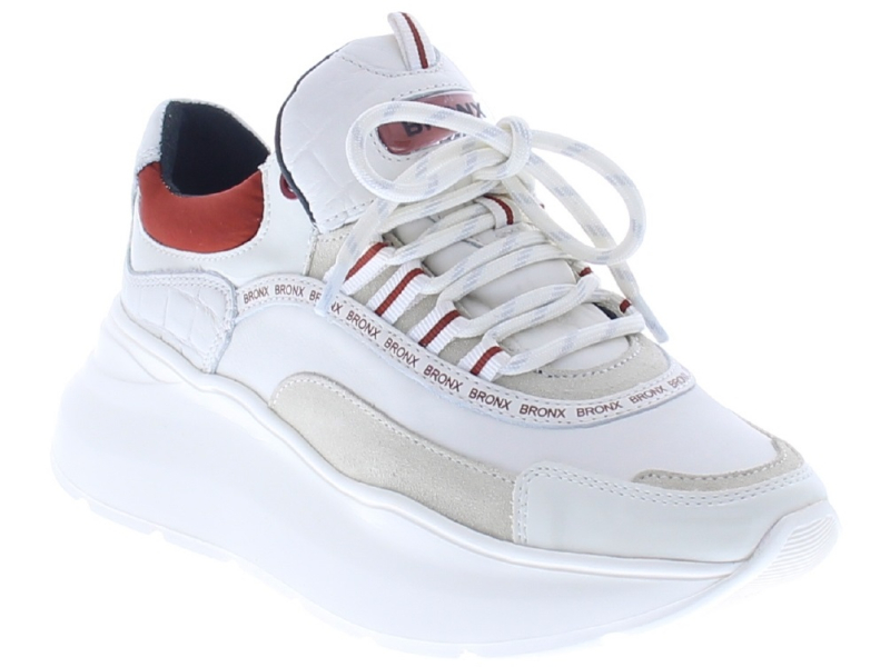 BRONX 1585 Grayson Off White/Rust