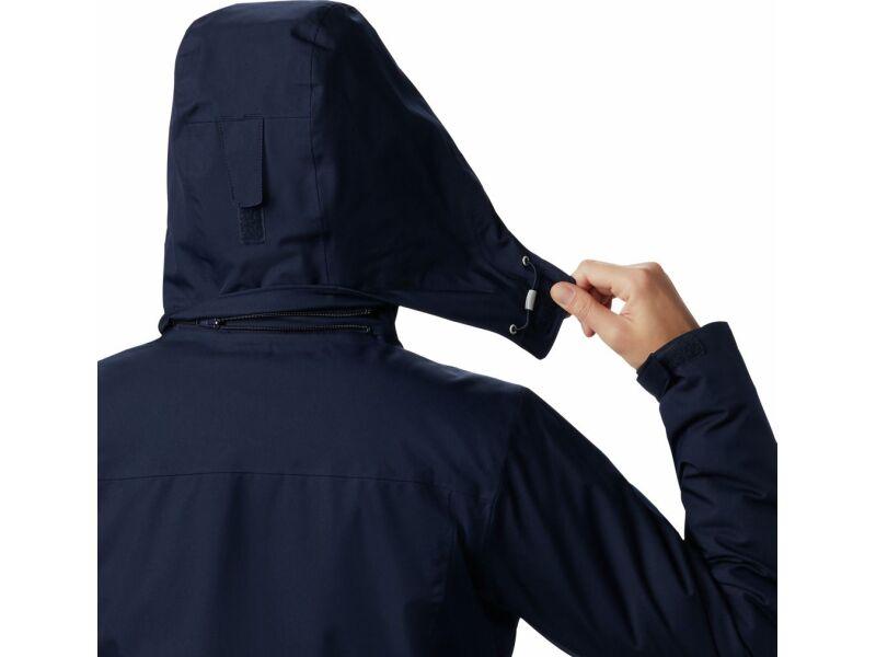 Columbia Salcantay Long Hooded Interchange JKT Dark Nocturnal