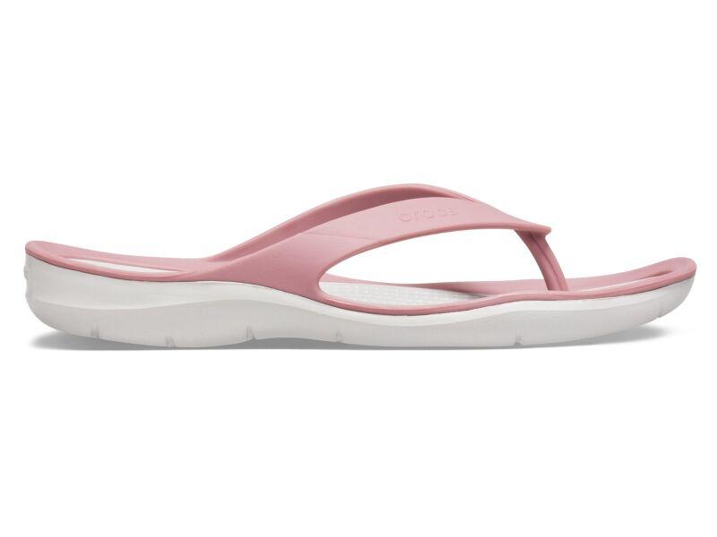 Crocs™ Women's Swiftwater Flip Cassis/Pearl White