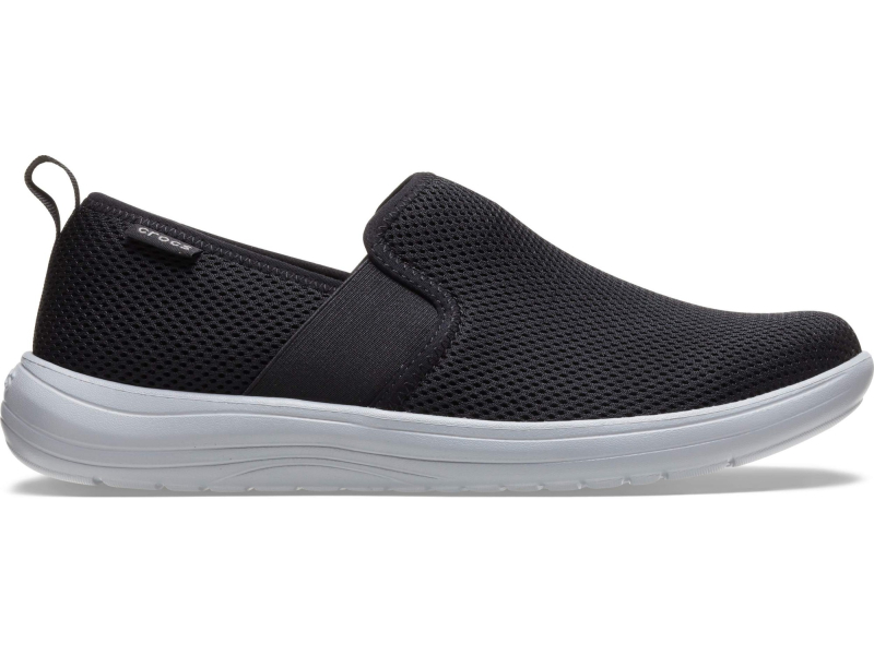 Crocs™ Reviva Low Slip-On Men's Black/Light Grey