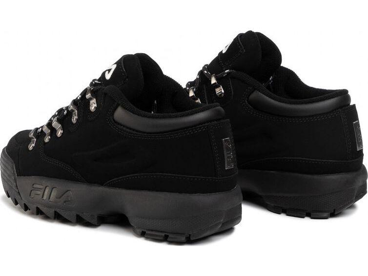 FILA Disruptor Hiker Low Black/Black