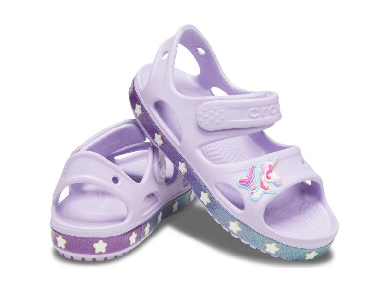 Crocs™ Funlab Unicorn Charm Sandal Kids Lavender