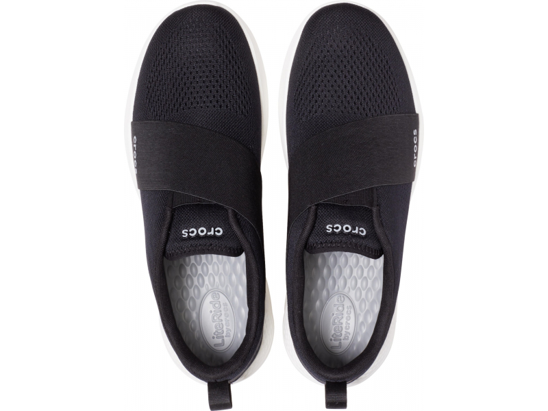 Crocs™ Literide Modform Slipon Mens Black/White