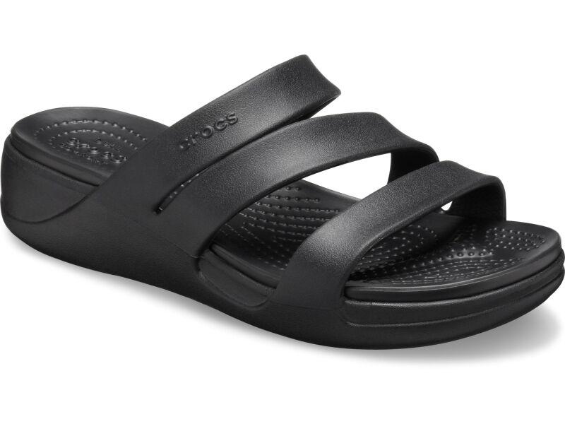 Crocs™ Monterey Wedge Womens Black