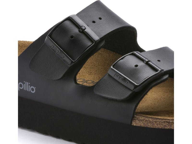 Birkenstock Arizona Platform Black