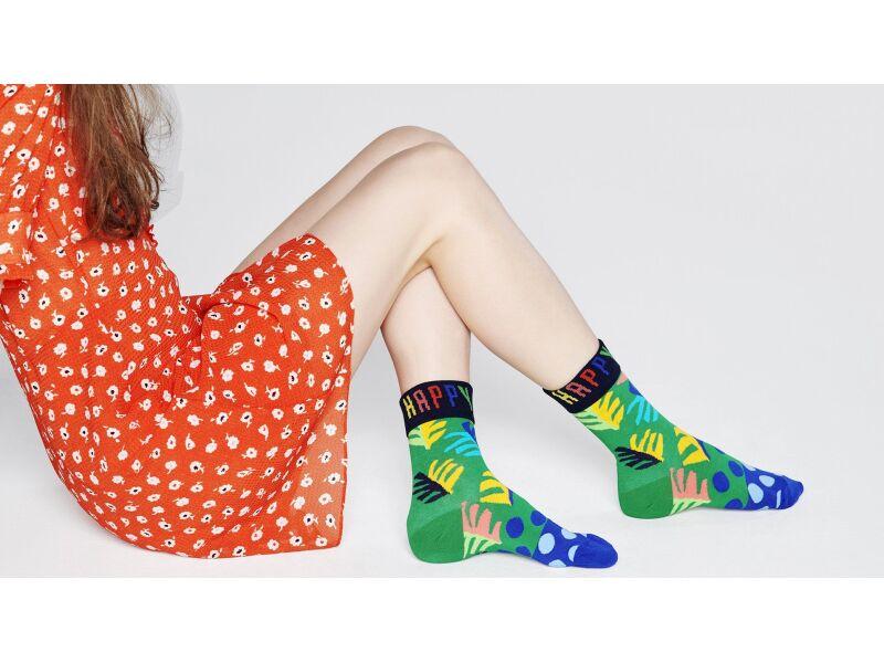 Happy Socks Big Leaf Multi 7300