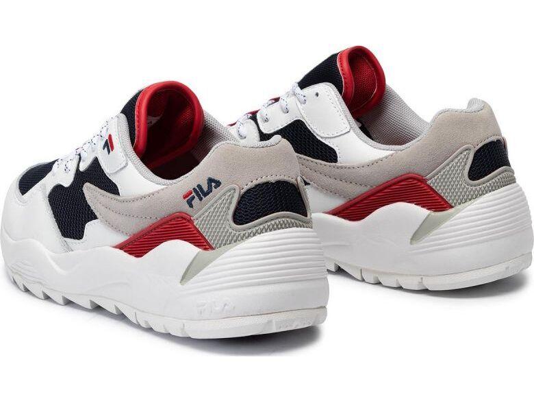 FILA Vault CMR Jogger CB Low White/Fila Navy/Fila Red