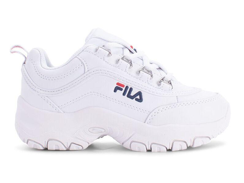 FILA Strada Low Kid's White