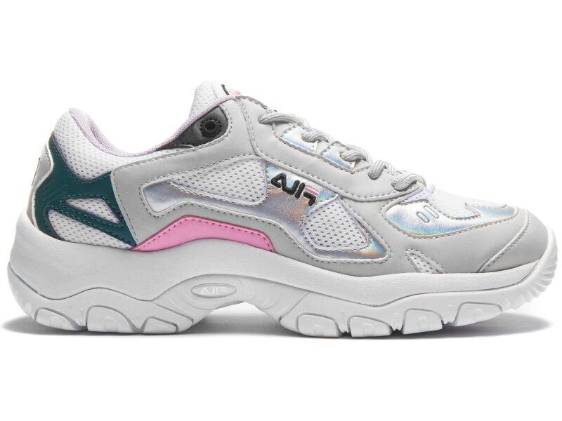 FILA Select Low Women's White/Gray Violet/Silver