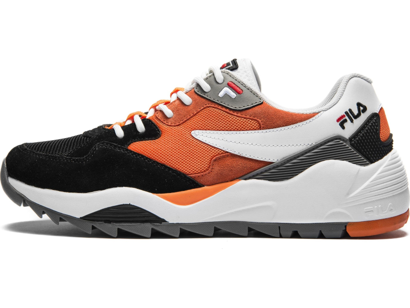 FILA Vault CMR Jogger CB Low White/Black/Mandarin Orange