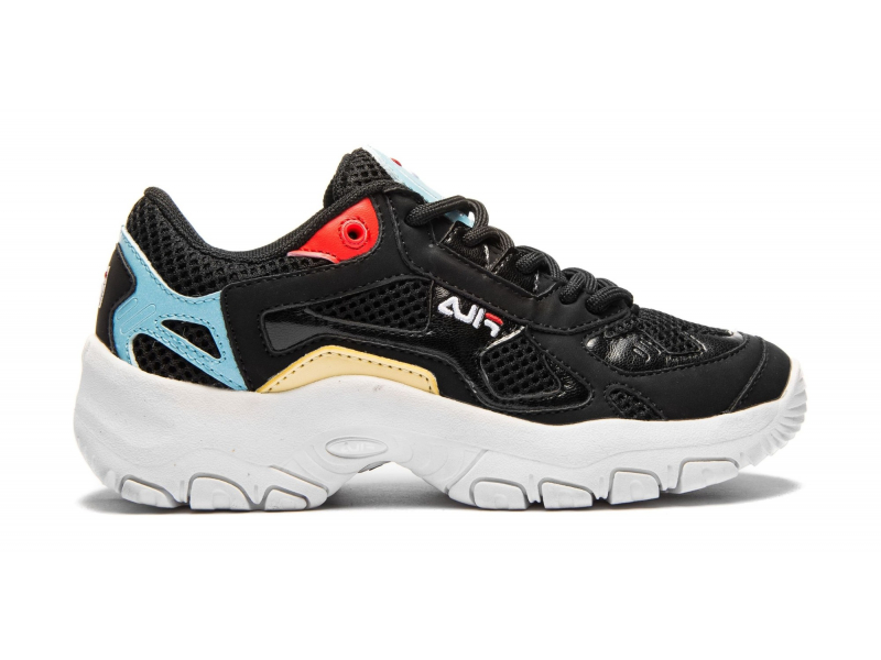 FILA Select CB Low JR Black/Crystal Blue
