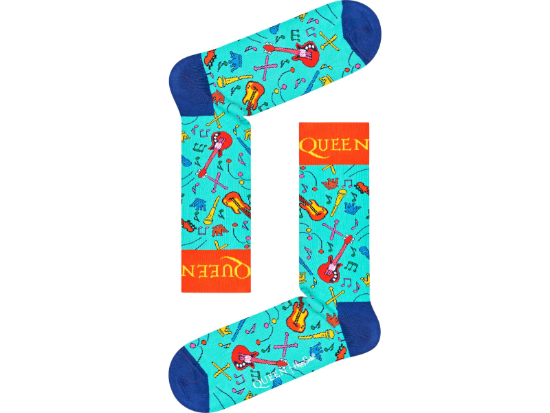 Happy Socks QUEEN 6-PACK GIFT BOX Multi 0100