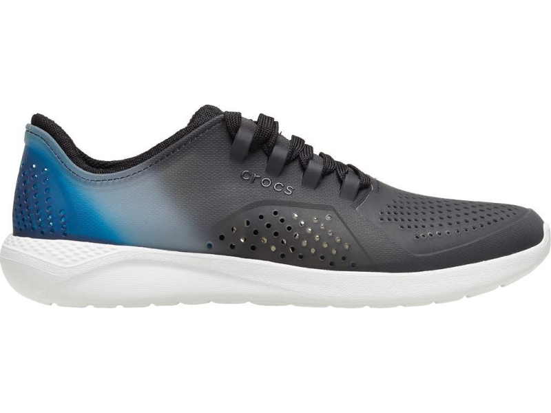 Crocs™ LiteRide Color Dip Pacer Men's Black/Almost White