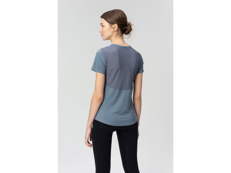 AUDIMAS Sieviešu T-krekls ar īsām piedurknēm Blue Mirage