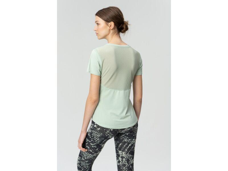 AUDIMAS Sieviešu T-krekls ar īsām piedurknēm Sea Foam