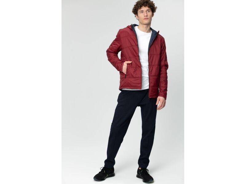 AUDIMAS Divpusēja vīriešu jaka ar sildošo slāni Biking Red/Navy Pr