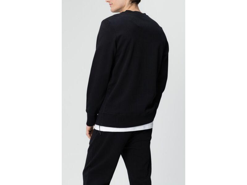 AUDIMAS Vīriešu kokvilnas džemperis Black 663
