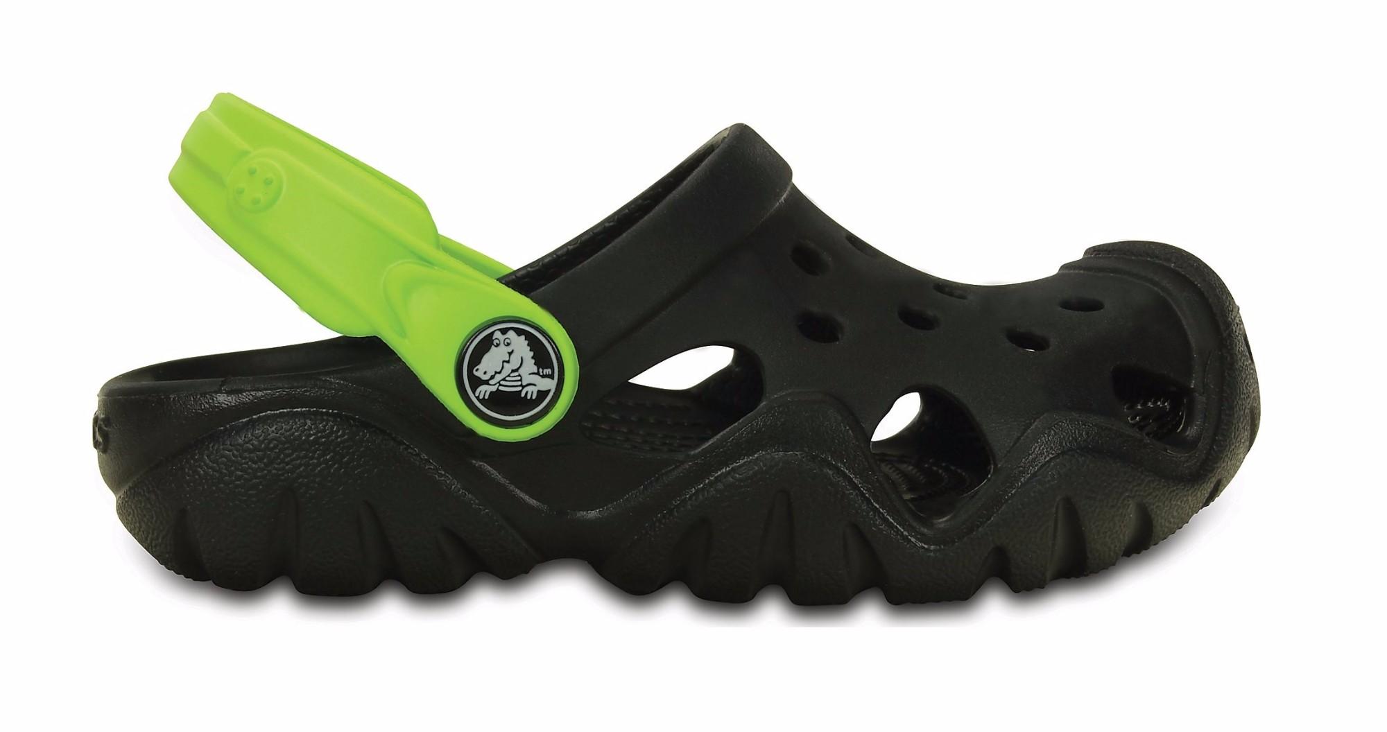 31bc859d8618b Crocs™ Kids  Swiftwater Clog Black Volt ...