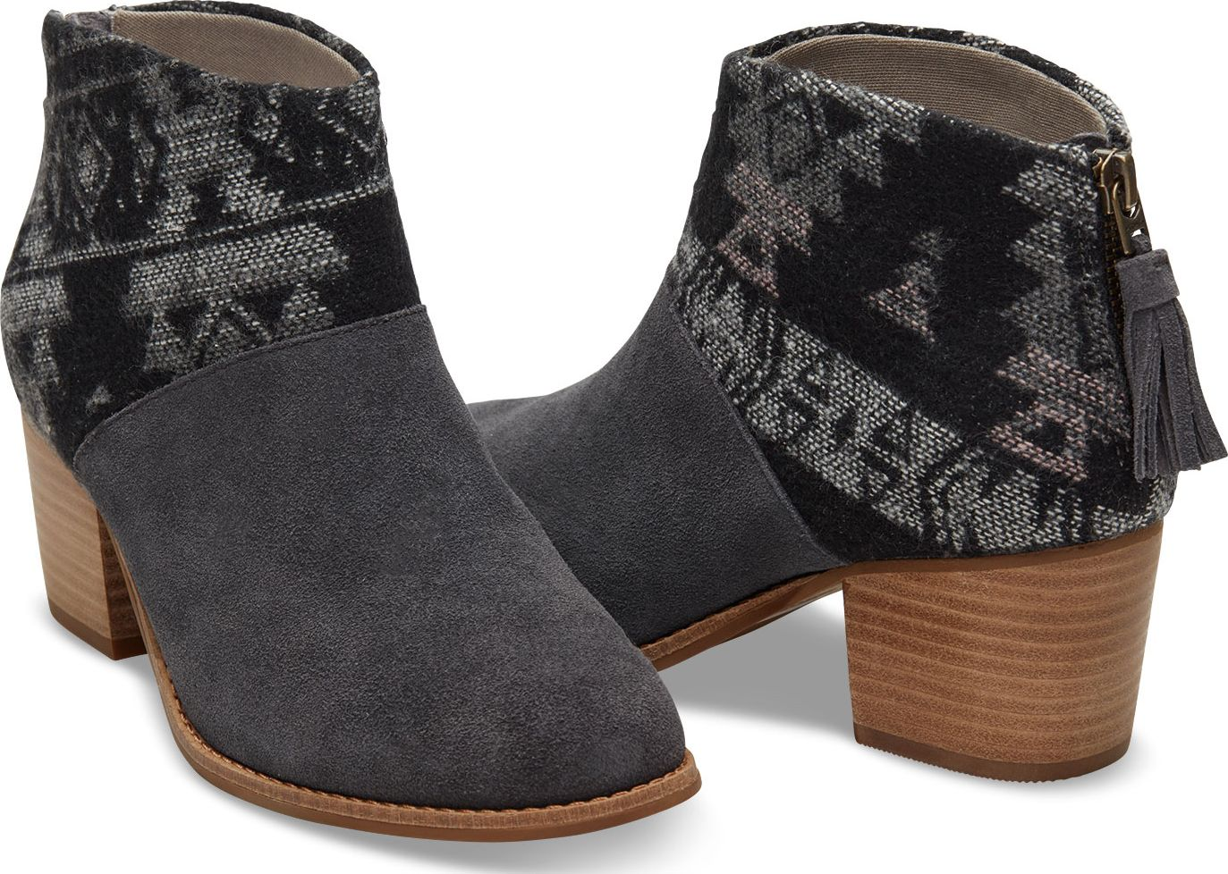 f9639a16382 Previous. TOMS Wool Women s Leila Bootie ...