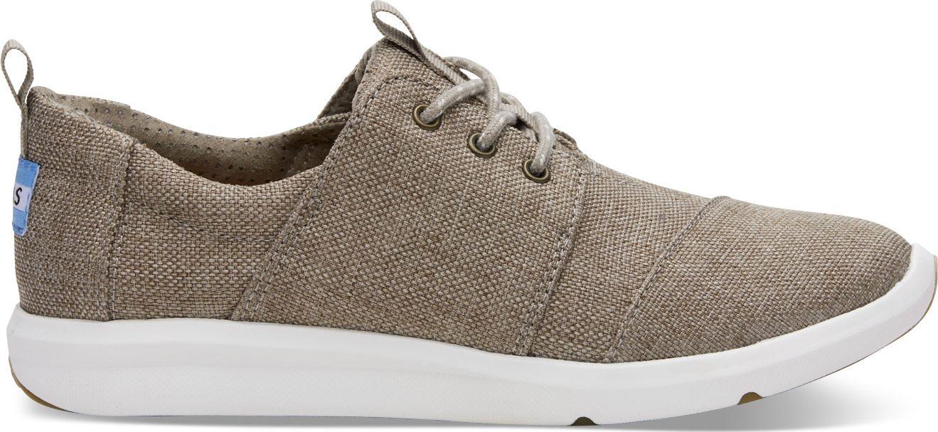 753b2d94d61 TOMS Poly Canvas Women s Del Rey Sneaker Desert Taupe ...