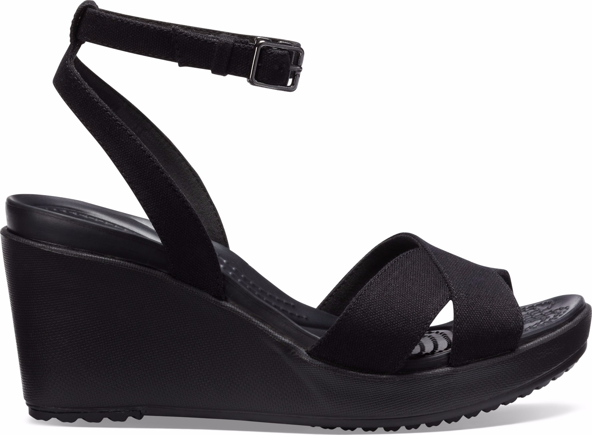 8b9bf726815 Crocs™ Women s Leigh II Ankle Strap Wedge ...