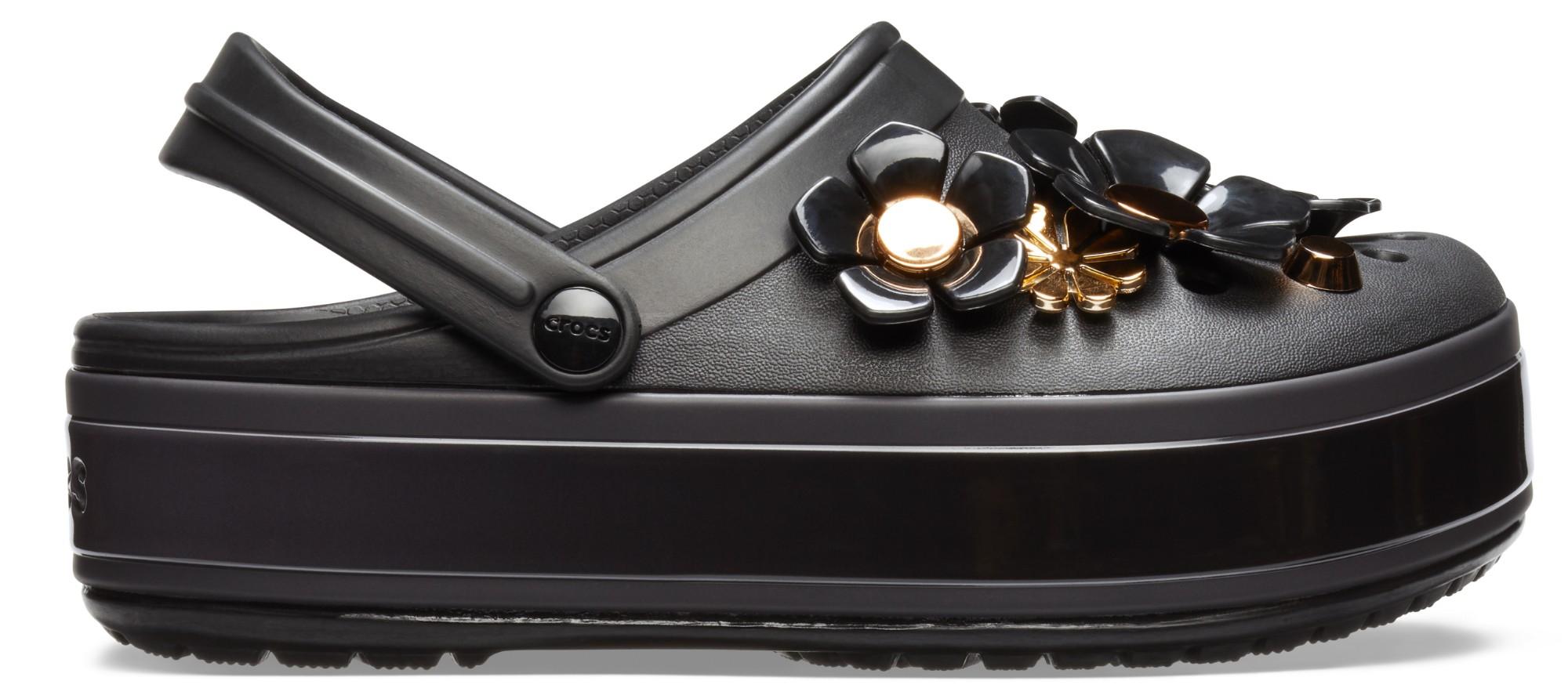 75cad322d92 Previous. Crocs™ CB Platform Metallic Blooms Clog ...