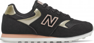 New Balance WL393 Black/Gold