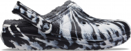 Crocs™ Classic Lined Marbled Clog White/Black