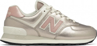 New Balance WL574 Leather II Rose