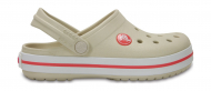 Crocs™ Kids' Crocband Clog Stucco/Melon