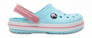 Crocs™ Kids' Crocband Clog Ice Blue/White