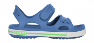 Crocs™ Kids' Crocband II Sandal PS Sea Blue/White