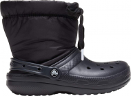 Crocs™ Classic Lined Neo Puff Boot Black/Black