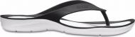 Crocs™ Women's Swiftwater Flip Black/White