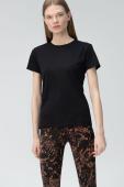 AUDIMAS Sieviešu T-krekls Black