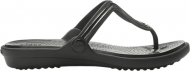 Crocs™ Sanrah Metal Block Flat Flip Women's Multi Black/Black
