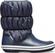 Crocs™ Winter Puff Boot Navy/White